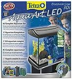 Tetra AquaArt Discovery Line LED Aquarium-Komplett-Set 30 Liter anthrazit (inklusive LED-Beleuchtung, Tag- und Nachtlichtschaltung und EasyCrystal Innenfilter, ideal für Krebse und Garnelen) - 2
