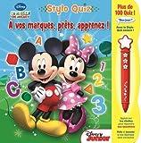 Telecharger Livres A vos marques prets apprenez Stylo Quiz La maison de Mickey (PDF,EPUB,MOBI) gratuits en Francaise