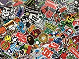 Lot de Stickers Skate, Autocollants Skateboard, Logo, Marque, Sponsor, Sticker...