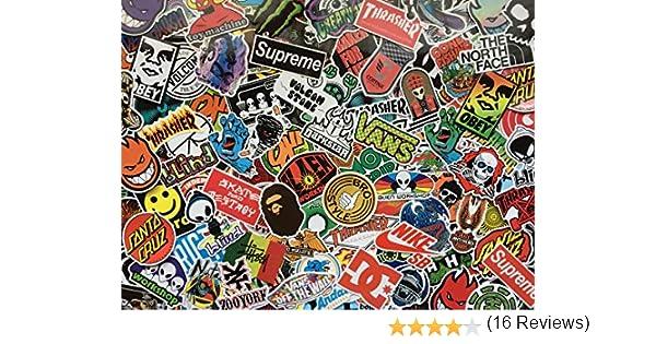 50 snowboard street sport planche /à roulette logos energy drink autocollants skate marques stickers en vinyl /étanche pour d/éco skate BMX graffiti Lot de stickers skateboard moto