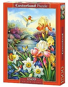 CASTORLAND Golden irisis 1500 pcs Puzzle - Rompecabezas (Puzzle Rompecabezas, Flora, Niños y Adultos, Niño/niña, 9 año(s), Interior)