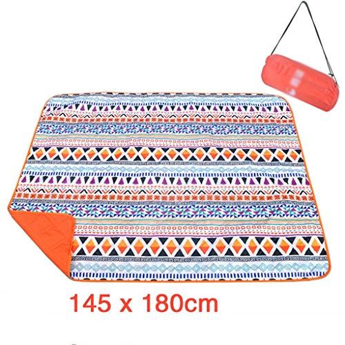 TYJ Picknick-Decken Oxford Cloth Picknick Matten Teppich Feuchtigkeitsbeständige Pad Outdoors Camping Rasen Crawling Matte Waschbare Picknick Stoff Mat ( Farbe : #3 , größe : 145*180CM )
