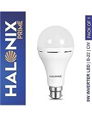 Halonix Inverter LED Bulb B22 9-Watt - White