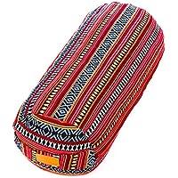 Preisvergleich für #DoYourYoga® XL-Yogabolster - Füllung : Dinkelspelz in Bio-Qualität - waschbar & hoher Sitzkomfort - Meditationskissen Yogarolle Yogakissen Schlafrolle