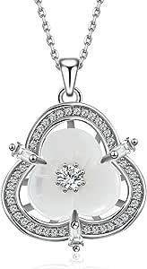 DEPOT TRESOR Collier plaqué or en forme de cinq cercles avec cristal Swarovski