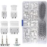 QLOUNI JST-XHP JST-XHP JST-stekkerkit, 2,54 mm pitch vrouwelijke pin header, JST-PH 2/3/4/5 pin behuizing JST adapter kabel s