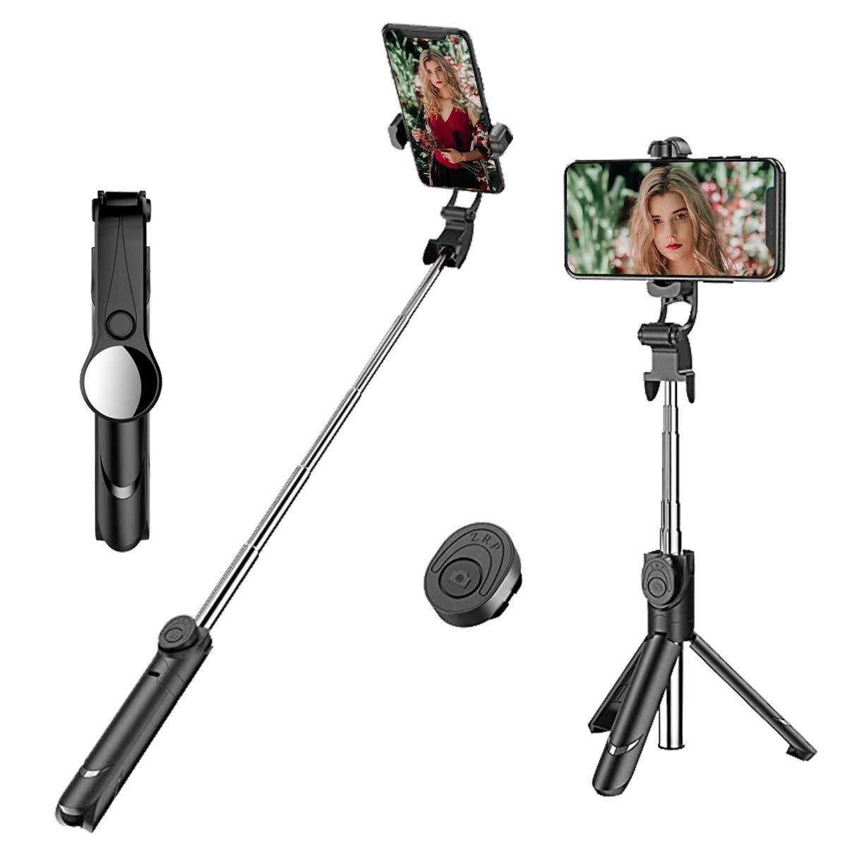 Palo para Selfie Monopod telescópico extensible para cámara del teléfono móvil soporte de todos