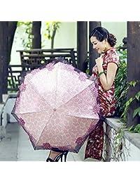 Mayuan520 Paraguas Plegable, Automático Plegable Para Viaje?Resistencia Óptima Contra El Viento De 60