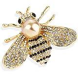 Gleamart - Broche de abeja para mujer