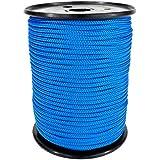 PP Seil Polypropylenseil SH 4mm 100m Farbe Blau (0912) Geflochten