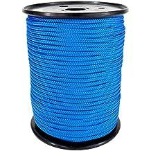 PP Seil Polypropylenseil SH 3mm 100m Farbe Blau (0912) Geflochten