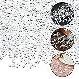 Willingood 3000 Stück Deko Diamanten Hochzeit Streudeko [6mm] Crystal Tisch Confetti Tischschmuck Tischdeko