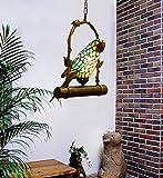 Makenier – Lámpara colgante en forma de loro, estilo clásico