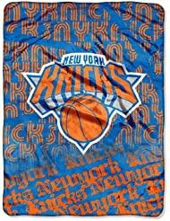 NBA New York Knicks Redux Micro Raschel Throw Blanket, 46x60-Inch by Northwest