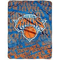 Northwest NBA New York Knicks-Episoden Micro Raschel Überwurf Decke, 46x 152,4cm