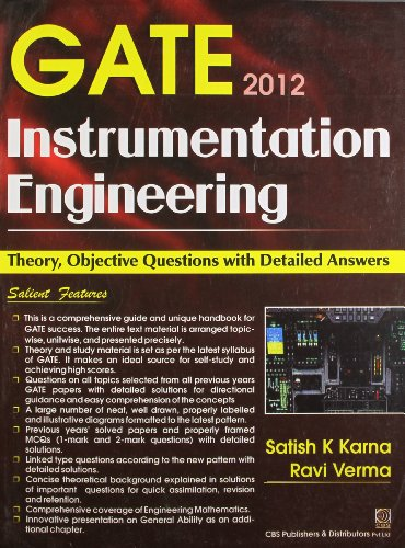 Gate 2012: Instrumentation Engineering: Theory, Objective Questions with Detailed Answers