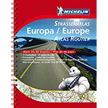 Michelin Straßenatlas Europa mit Spiralbindung (MICHELIN Atlanten)