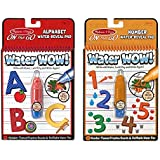 Melissa and Doug Water Wow Bundles: Alphabet/Numbers, Multi Color