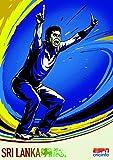 Cricket World Cup - Sri Lanka - Wall Poster Print - 43cm x