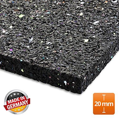Casa pura tappeto antivibrazioni per lavatrice assorbe le vibrazioni e il rumore | vari spessori e misure | 20 mm - 60x60 cm
