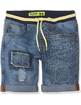 Desigual Denim_Grey, Pantalones Cortos para Niños