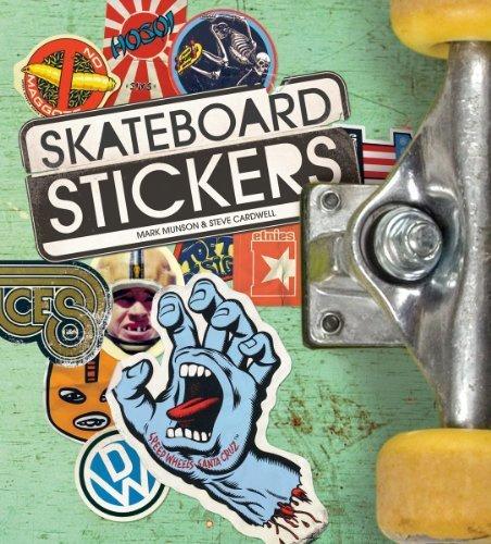 Skateboard Stickers by Mark Munson, Steve Cardwell (2012) Paperback