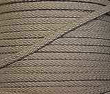 5 m Baumwollkordel 6 mm beige