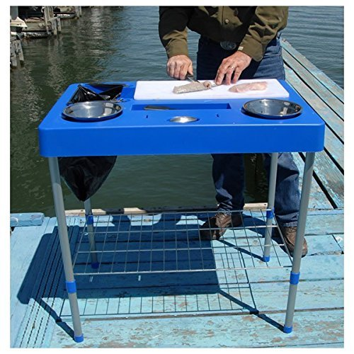 RITE-HITE Fillet Factory Fish Cleaning Station - Everything You Need To  Clean Fish On The Go  Lightweight and Portable by Rite Hite
