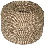 8 mm 50 meter tuinkoord jute koord garen natuur knutselband pakketkoord jute band kunsthandwerk verpakking DIY string decorat