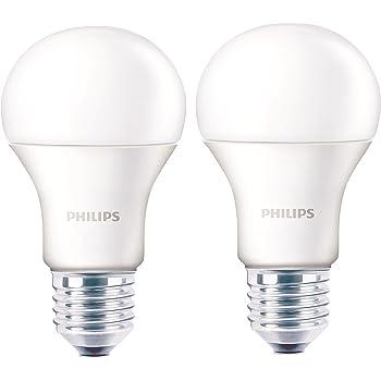 Philips Base E27 12-Watt LED bulb (Warm White/Golden Yellow,Pack of 2)