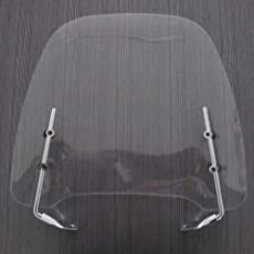 Spedy Small Clear Gas Gy6 Scooter Moped Scooty Windshield Screen Visor for Suzuki Access 125