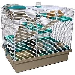 Rosewood Pico Xl Cage Bleu Sarcelle Translucide pour Petit Animal