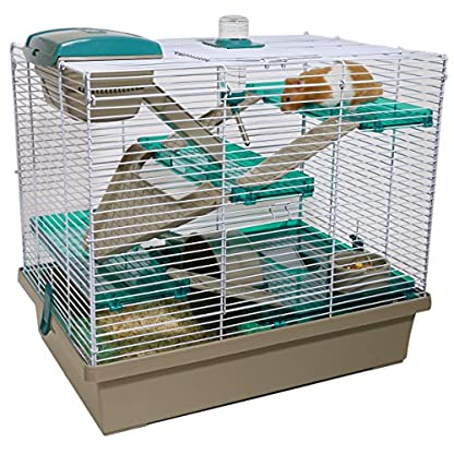 Rosewood PICO Hamster Home, Extra Large, Translucent Teal 1