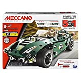 Meccano 6040176 5 in1 Model Set - Roadster Cabriolet