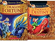 The Dragon of Fortune (Geronimo Stilton and the Kingdom of Fantasy: Special Edition #2) + Geronimo Stilton and