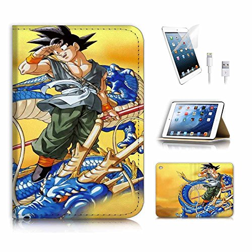 FUNDA PARA IPAD GOKU SHENRON DRAGON BALL Z