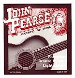 John Pearse 600L Jeu de cordes pour Guitare Phosphore Bronze Light