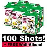 Fujifilm Instax Lot de films pour 100 prises de vue