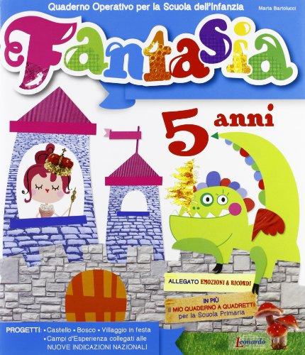 FANTASIA 5 ANNI PRESCOLARE