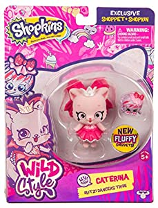 Shopkins Serie 9 - Wild StyleShoppets Mascotas Coleccionables (Giochi Preziosi HPKC0011)