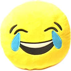 Chords ROFL Smiley Emoticon stickable plush soft toy cushion