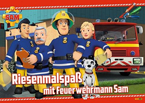 feuerwehrmann sam malbuch Riesenmalspaß mit Feuerwehrmann Sam
