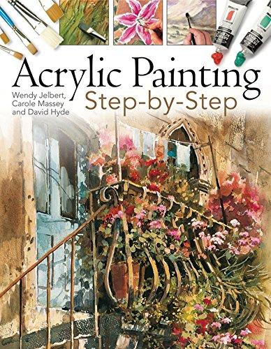 Acrylic Painting Step-by-Step por Wendy Jelbert