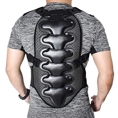 TZTED Motocross zurück Schutzausrüstung für Outdoor-Sportarten Rückenprotektor zum Umschnallen für Damen & Herren