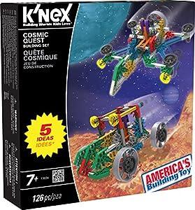 K'NEX 33145 - Building Sets - Cosmic Quest - 126 Pieces - 7+ - Bau- und Konstruktionsspielzeug