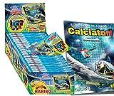 """Figurine Calciatori Panini 2019-2020 Esclusive Box Concorso """"Vinci il Calcio 2020"""". BOX: 36 Bustine + Album + Caramelle Haribo Orsetti d'Oro 12g. Vinci Maglia e gadget della Tua Squadra del Cuore"""