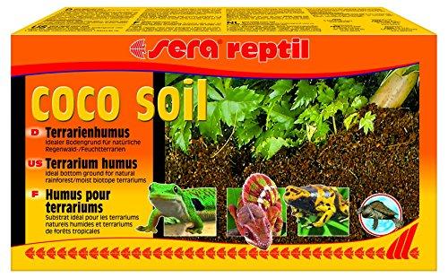 Sera 32042Rettile Coco Soil 650G ergeben 8Litri terrari Humus in Fibre di Cocco per terrari Bagnato