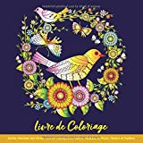 Livre de Coloriage Adultes Mandalas Anti-Stress: Livre de Coloriage pour Adulte: Mandalas de Fleurs, Oiseaux et Papillons