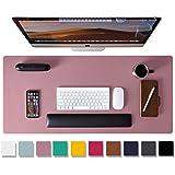 Leather Desk Pad Protector,Mouse Pad,Office Desk Mat,Non-Slip PU Leather Desk Blotter,Laptop Desk Pad,Waterproof Desk Writing