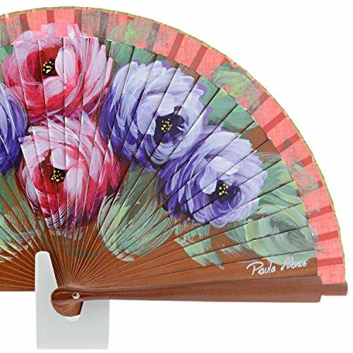 disegno del ventilatore di legno CASTAGNA